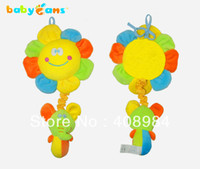 Teddy Bear Multicolor Plush New baby bed hanging violin music toys brand plush toy factory price