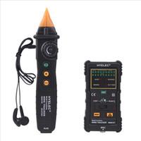 Peakmeter MS6816 multifunzione Telephone Network Tracker legare del cavo del telefono per le telecomunicazioni rilevamento di rete Strumenti DHL H11414