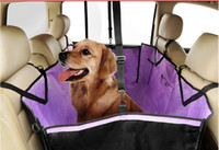 Wholesale Creative Waterproof Automible Puppy Pad Breathable Outdoor Travel Pet Car Seat Cover Mat Wear Resistant Back Seat Dog Pad
