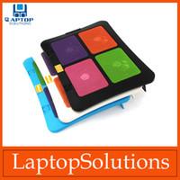 Wholesale USB Laptop Cooler Notebook Cooling pad stand FAN Cooler BLUE LIGHT