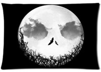 Wholesale The Nightmare Before Christmas Pillowcase Cover Rectangle Pillow Case Standard Size quot x30 quot quot x24 quot One side Two sides BC05