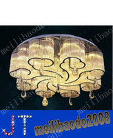 atmosphere contracts - Contracted and the atmosphere absorb dome light crystal LED dome light sitting room light sweet bedroom lighting art restaurant MYY9608