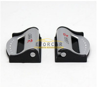 Wholesale Car Seat Safety Buckle New - New hot 10 Pair Vehicle Auto Car Safety Seat Belt Strap Clip Stopper Adjuster Free Shipping