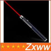 Wholesale MW mW High Power RED Laser Beam Pointer Point Pen for PPT MEETING TEACHER MANAGER AA64 HZ