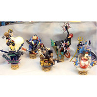 Wholesale 10pcs Kingdom Hearts Pirates of the Caribbean PVC Action Figure Collection Model Toys set Classic Toys Gifts