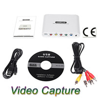 Wholesale New Arrival Real time GameCap Game Video Capture Recorder Gaming Connector for Xbox PS3 PSP