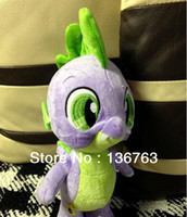 Wholesale MN build a bear quot my little pony mini spike the dragon plush toy stuffed doll kids christmas gifts