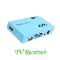 DLP OEM V558 Digital TV Box LCD VGA AV Tuner DVB-T FreeView Receiver