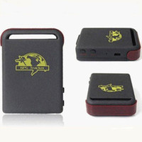 Gps Tracker   TK102 GPS Tracker with 1 PC Battery and Car Charger TK102B simple packing 6pcs lot free shipping