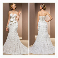 Trumpet/Mermaid Reference Images Square 2014 A-line sheath Trumpet Mermaid Princess Strapless Chapel Train And Stretch Satin Wedding Dresses backless high quality elegant fashion