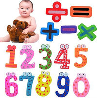 Wholesale 90Pcs Baby Toy Gift Set Wooden Fridge Magnet Education Learn Cute Kid Baby Toy Worldwide FreeShipping CWM0080
