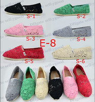 Wholesale Hot black crochet women s classic shoes sunflowers canvas shoes flat canvas shoes