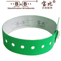 Wholesale 10pcs Playground identification wristband disposable tickets party activities wrist belt strap conference and exposition