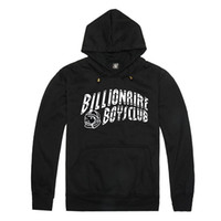 Men Pullover Hooded free shipping New Billionaire boys club bbc Letter mens Skateboards Hooded pullover sweater hiphop hoodies casual coat