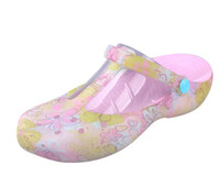 Wholesale New popular flat bottomed hole shoes women comfortable Mary Jane sandals jelly shoes flat with female summer beach shoes NXX11
