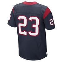 Wholesale #23 Arian Foster Navy Blue 2014 Elite Jersey Ameri...