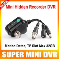 1-32GB cctv super dvr - Cctv camera super mini hidden motion detection HD recorder DVR cam Max GB