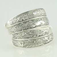 Wholesale Factory Mixed Design Tibetan Silver Bangles Tibetan Silver Bracelets Minimum order USD10