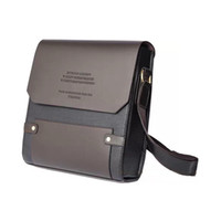 Wholesale Male Brand Messenger Bags Fashion Shoulder Bags Business Briefcase Leather Cross Body Bags Multifunctional Handbags