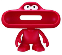 Wholesale Pill Speaker Stand Shell Beats pill Dude Stand Big Mouth Case Bluetooth Cartoon Character to Protect Portable Factory Price