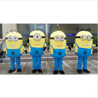 Wholesale Real Fetish Summer Style Latex Despicable Me Minion Mascot Costume Custom Fancy Anime Mascotte Theme Fancydress Carnival