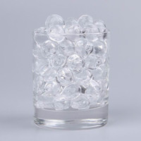 Wholesale Clear Crystal Plant Soil Bead Water Beads Pearl Magical Growing Jelly Balls ZVO9
