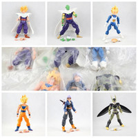Wholesale 16cm face hand changable dragon ball z doll pvc dolls anime action figure collection model toy figures toys brinquedos