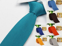 Wholesale neckties for men knitting neck ties brand ties stripes print men s neck ties dress shirt