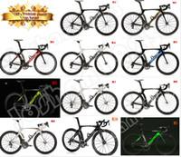 Wholesale 1k road bike frame Cipollini RB1000 road bike frame T1000 K MCipollini RB1K Carbon Frame fork headset seatpost Size XS M L