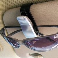 Cheap Top quality New Car Glasses Sunglasses Holder Visor Card Clip 4 Colors Model with glasses clip auto paper folder folder car glasses 200pcs