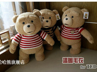 Wholesale MN Sweater Ted Plush Doll Original USA Movie Teddy Bear with Voice Christmas Gift Birthday Gift