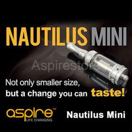 Wholesale Genuine Aspire Mini Nautilus Replacement BVC Coil Mini Aspire Nautilus Newest Revolution Airflow Controlling Aspire Mini Nautilus Tank