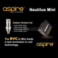 Replaceable 2.0ml Metal 2ml Aspire Mini Nautilus Replacement BVC Coil Mini Aspire Nautilus Newest Revolution Airflow Controlling Aspire Nautilus Mini (BVC) Tank