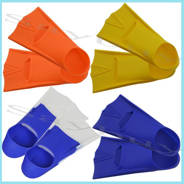 2017 High Quality Colorful Swimming Flipper Silicone Swim ...