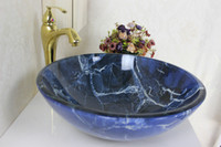 Wholesale Victory bathroom basin glass sink wash basin vessel sink wash sink bathroom cabinet sink N