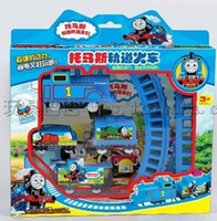 Wholesale Thomas electric train track electric rail toy factory direct electric animation