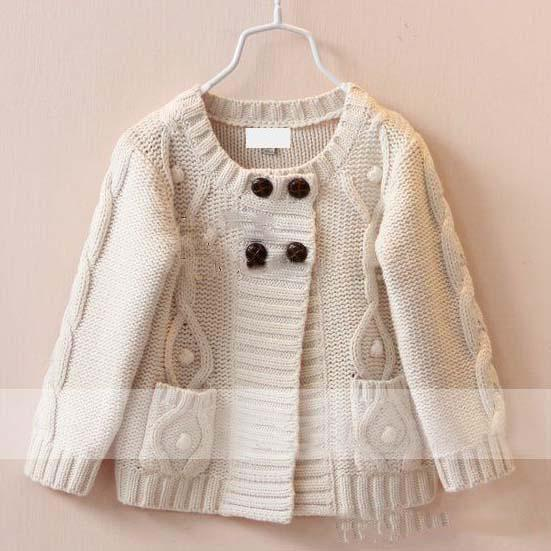 Cardigan Sweaters Kids Cashmere Sweater England