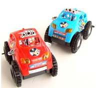 Wholesale Mickey electric dump truck electric toy car will somersault stall selling encounter obstacles sources