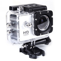 Wholesale New Waterproof Helmet Sports DV Camera CAR DVR P Full HD H MegaPixels Inch Car Recorder Diving Bicycle Action Camera SJ4000
