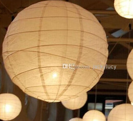 45pcs lot New White Chinese Paper Lanterns With LED Lights Beautiful Christmas Ornaments Lantern For Wedding Party Decoration Supplies