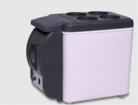 Wholesale Car Refrigerator L V Portable Cooler and Warmer Travel Mini Portable Car Fridge Cooler Box the Cover Can be Pallet By DHL
