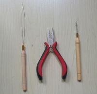 Wholesale Piece Plier Needles Diy Hair Extensions Tools Professional Pliers Micro Tubes Rings Crochet Hook