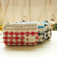 Wholesale Hot Selling Cotton Clutch Bag Purse Wallet For Phones Coin Wallet