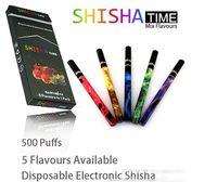 Cheap 2014 Design Portable Disposable Electronic Cigarette 5 Flavours Available Shisha E Hookah E Cig E Cigarette Pen 500 Puffs Ego CE4 MT3