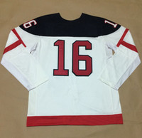 Ice Hockey Men Full Wholesale Cheap 1914-2014 Canadians 100th Anniversary Jersey #16 TOEWS White Discount High Quality Hockey Uniforms 2014 Home Jersey