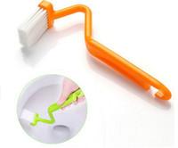 toilet brush - 10 set S type toilet brush toilet Kiyosato side bending dead soft brush cleaning brush