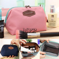 Wholesale New Fashion Beautician Colors cosmetic pouch makeup bag women s organizer bag handbag travel bag storage bags