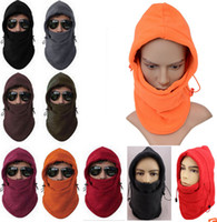 Wholesale Outdoor Wind Stopper Neck Face Mask Hood Cap Headwear For Bike Bicycle Cycling Motor Cycle Winter Sports Ski Snowboard CA03017