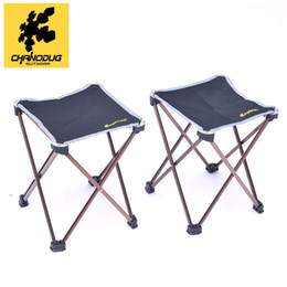 Wholesale CHANODUG Foldable Aluminum Chair cm Outdoor Camping Fishing Picnic Portable Chair