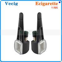 Cheap Single V Pipe Best Black Stainless Portable Vaporizer